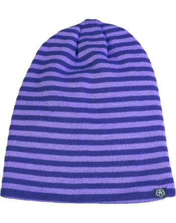 Color Kids Ringel-Mütze SULLIAN purple 103806-4175