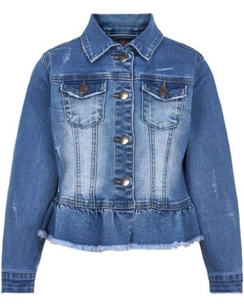 Creamie Kinder Jeans-Jacke light blue denim 821321-7702