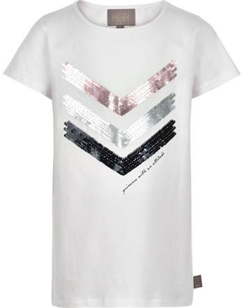 Creamie Kinder-Shirt Kurzarm SEQUINS cloud 821521-1103
