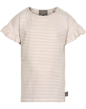Creamie Kinder-Shirt Kurzarm STRIPE adobe rose 821617-5508