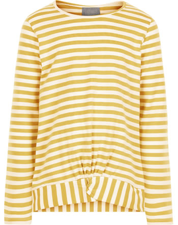 Creamie Shirt long sleeve STRIPE rattan 821528-3031