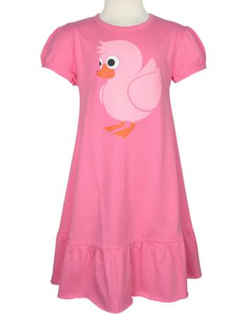 Danefae Kinder-Kleid Kurzarm VESTERBRO UDUCK happy pink 10323-4056