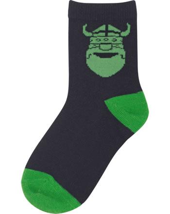 Danefae Kinder-Socken ERIK navy green 10151-3342