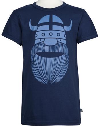 Danefae Shirt short sleeve BASIC ERIK navy 10256-3278