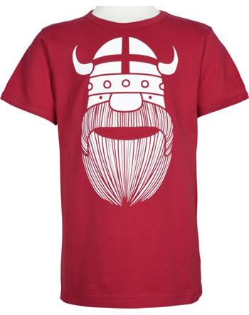 Danefae Kinder-T-Shirt Kurzarm BASIC SS X FLAG ERIK red 30104-2865