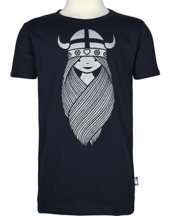 Danefae Kinder-T-Shirt Kurzarm BASIC SS X FREJA navy 30104-2395