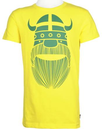 Danefae Kinder-T-Shirt Kurzarm MERIAN TEE ERIK bright yellow 70142-3254
