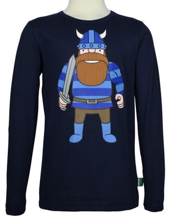 Danefae Kinder-T-Shirt Langarm BASIC ERIKDINVEN navy 30106-2920