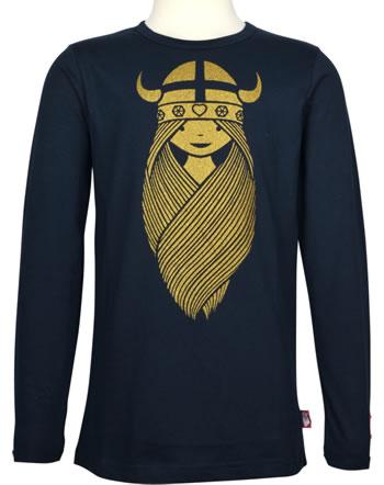 Danefae Shirt long sleeve BASIC FREJA navy 30106-3054