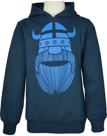 Danefae Sweatshirt m. Kapuze WARRIOR HOODIE ERIK dusty navy 11911-4017