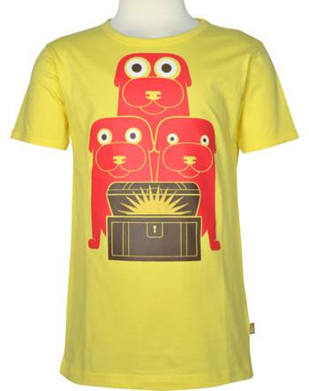 Danefae T-Shirt Kurzarm BASIC SS FYRTOJET lemoncello 11920-4054