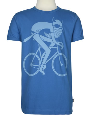 Danefae T-Shirt Kurzarm BASIC SS X BIKING VIKING timed blue 30104-3076