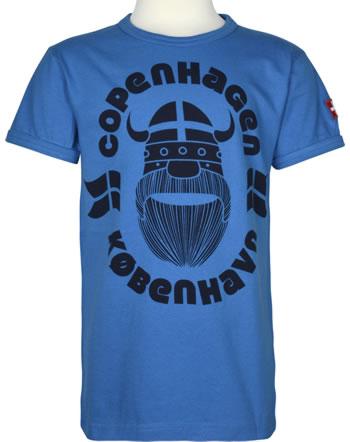 Danefae T-Shirt Kurzarm BASIC SS X ERIK COPENHAGEN timid blue 30104-3016