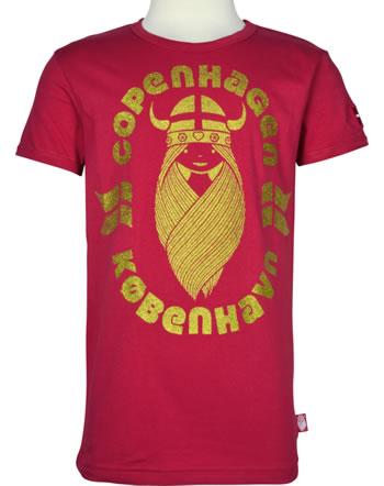 Danefae T-Shirt Kurzarm RAINBOW RINGER FREJA COPENHAGEN red 30105-2203