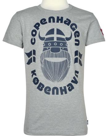 Danefae T-Shirt Kurzarm RINGER ERIK COPENHAGEN heather grey 30105-2182