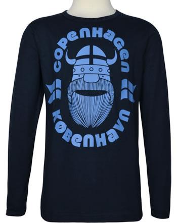 Danefae T-Shirt Langarm ERIK COPENHAGEN navy 30106-2042