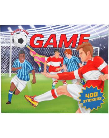 Depesche Create your Football Game Livre autocollantes 11405