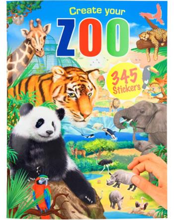 Depesche colouring book Create your Zoo 11416