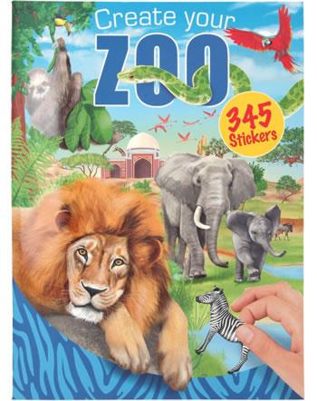 Depesche colouring book Create your Zoo 11416/B
