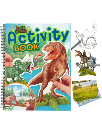 DINO WORLD Activity Book T-Rex