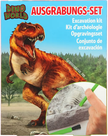 DINO WORLD Ausgrabungs-Set