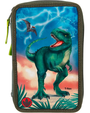 DINO WORLD trousse avec bourrage LED T-Rex 11288