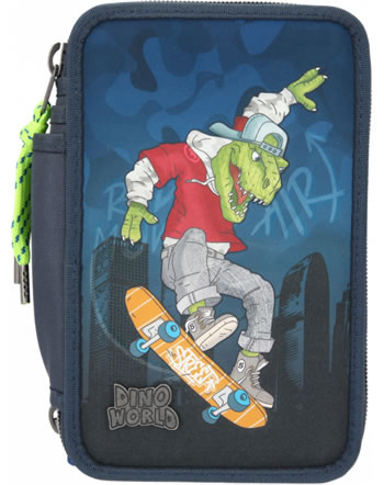 DINO WORLD pencil case with filling Skater 11110
