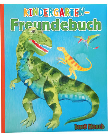 DINO WORLD Kindergarten-Freundebuch 11081