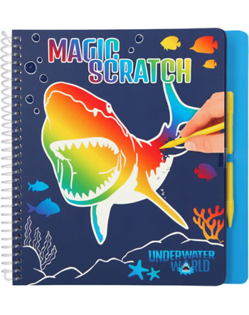 DINO WORLD Magic Scratch DRAGON Underwater World