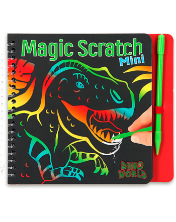 DINO WORLD Malbuch Mini Magic Scratch 10711/B