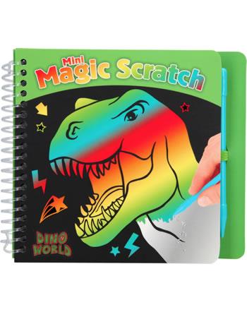 DINO WORLD livre à colorier Mini Magic Scratch