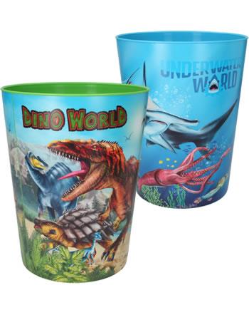 DINO WORLD Waste paper bin 11497