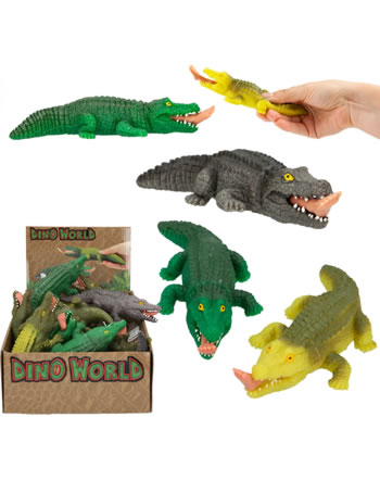 DINO WORLD Quetsch Krokodil 8403