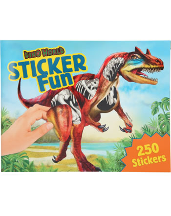 DINO WORLD Sticker Fun Allosaurus
