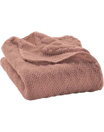 Disana Baby-Woll-Decke 100x80 cm GOTS rosé 5111315001