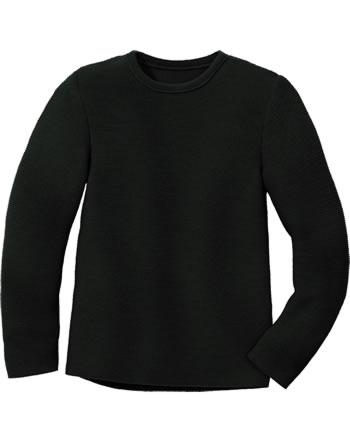 Disana Linksstrick-Pullover Schurwolle GOTS anthrazit 3114199