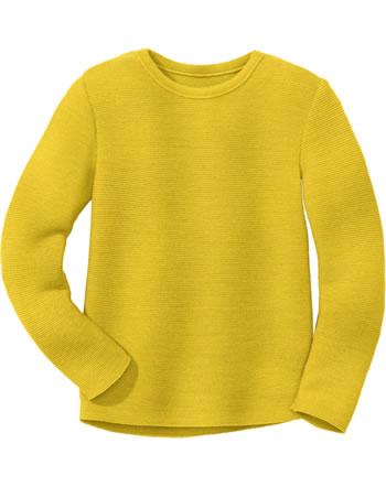Disana Linksstrick-Pullover Schurwolle GOTS curry 3114447