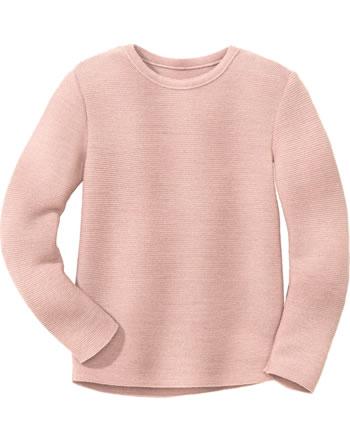 Disana Linksstrick-Pullover Schurwolle GOTS rosé 3114315