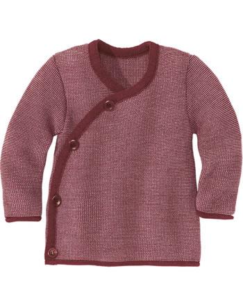 Disana Melange Jacket GOTS bordeaux-rosé 3211933
