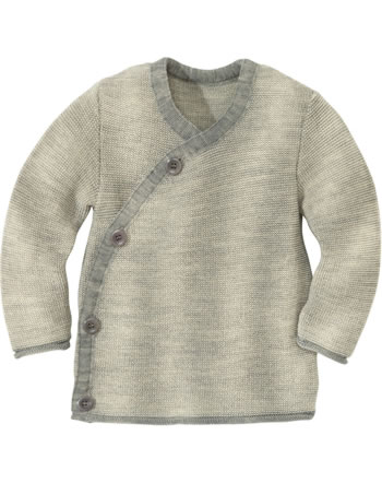Disana Melange Jacket GOTS grey-natural 3211911
