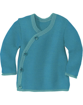 Disana Melange Jacket GOTS lagoon-blue 3211922