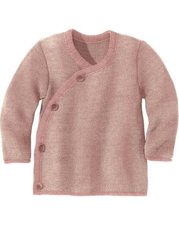 Disana Melange Jacket GOTS rosé-natur 3211931