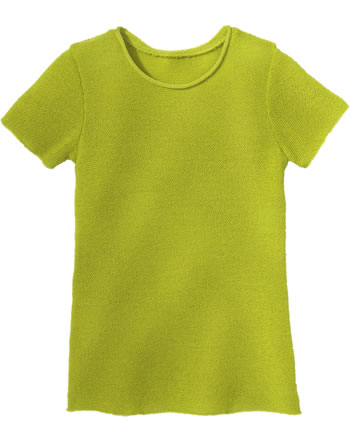 Disana Pullover short sleeve GOTS granny smith 7112 521