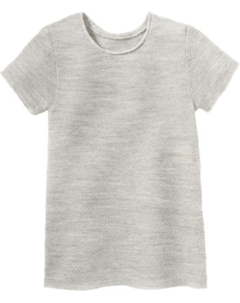 Disana Pullover short sleeve GOTS light grey 7112 120