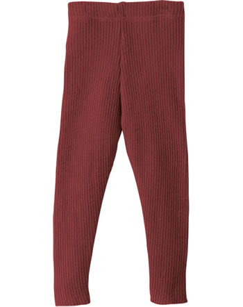 Disana Knitted Leggings GOTS bordeaux 3312398