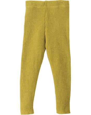 Disana Knitted Leggings GOTS curry 3312447