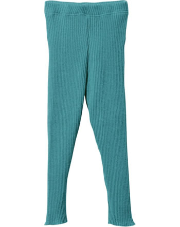 Disana Knitted Leggings GOTS lagoon 3312219