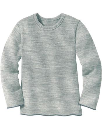 Disana Strick-Pullover Schurwolle GOTS grau 3113121