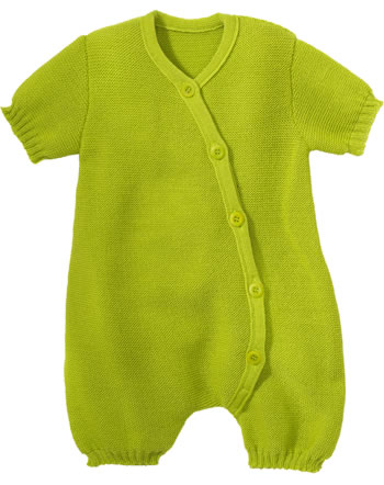 Disana Romper short GOTS granny smith 7411521