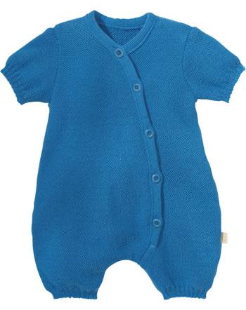 Disana Romper short GOTS blue jay 7411221